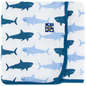 KicKee Pants - Natural Megalodon Swaddle - kkgivingtree - K&K's Giving Tree