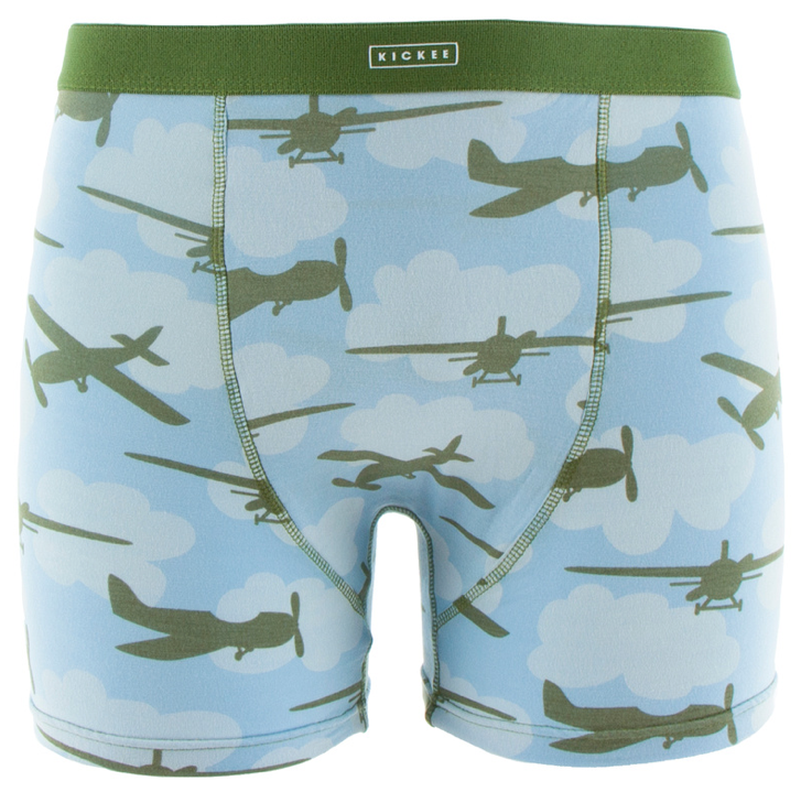 Men's Pond Airplanes Boxer Brief