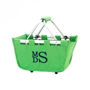 Green Mini Market Tote - Personalize it - K&K's Giving Tree