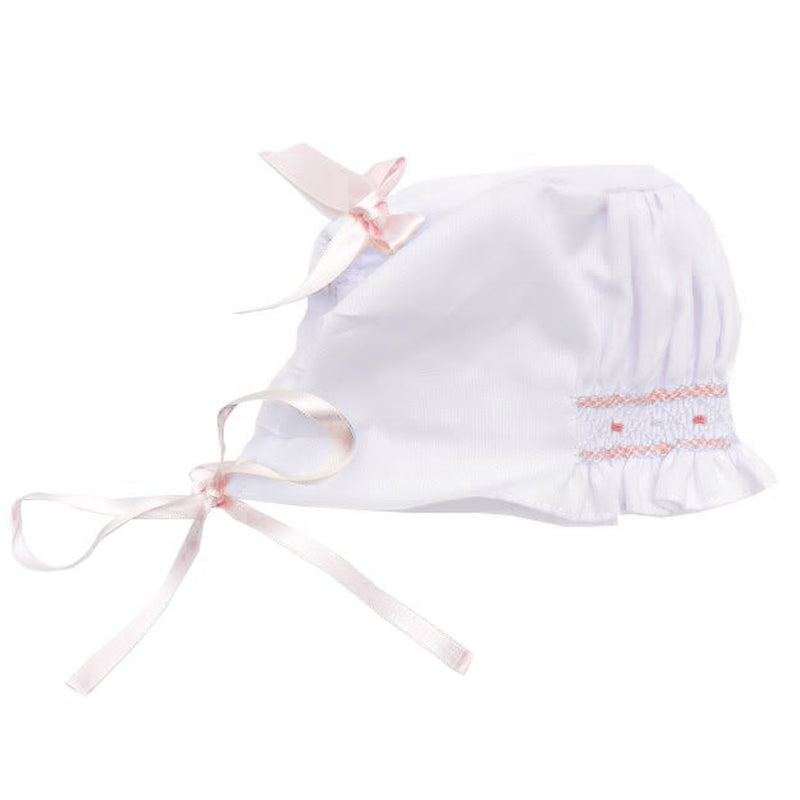 kkgivingtree - Luli & Me - White & Ivory 2pc Bubble w/ Bonnet Set - K&K's Giving Tree