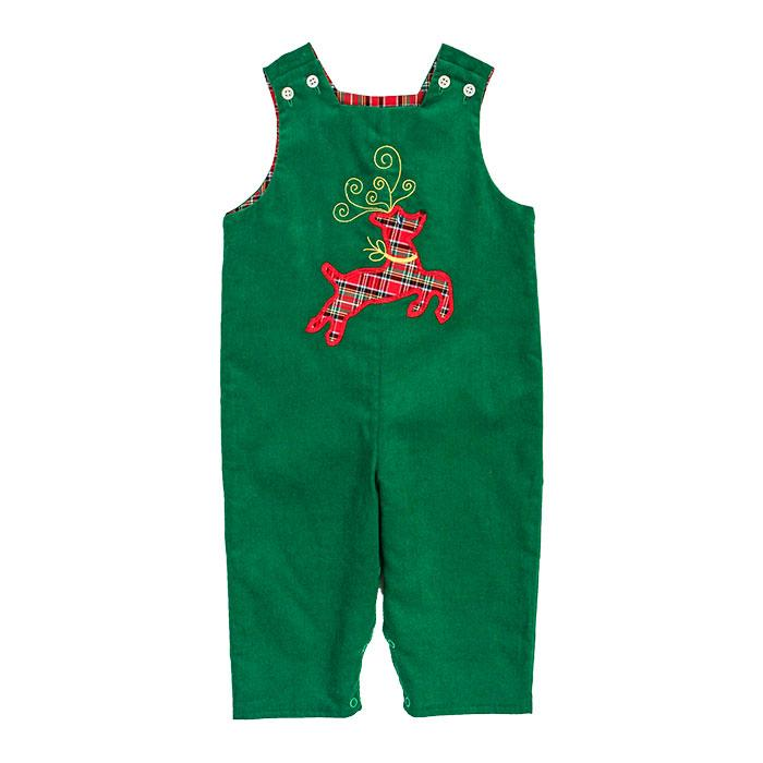 Run Rudolph Run Collection - Reindeer Reversible John John