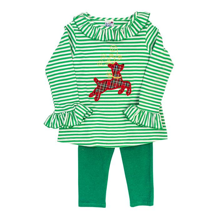 Run Rudolph Run Collection - Tunic Pant Set