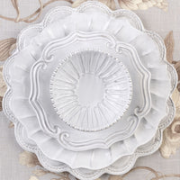 Incanto Ruffle American Dinner Plate