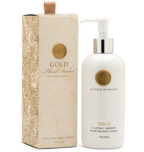 Niven Morgan Gold Velveting Body Lotion