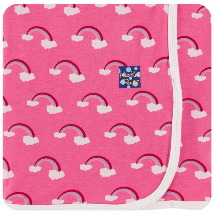 Flamingo Rainbow Swaddle