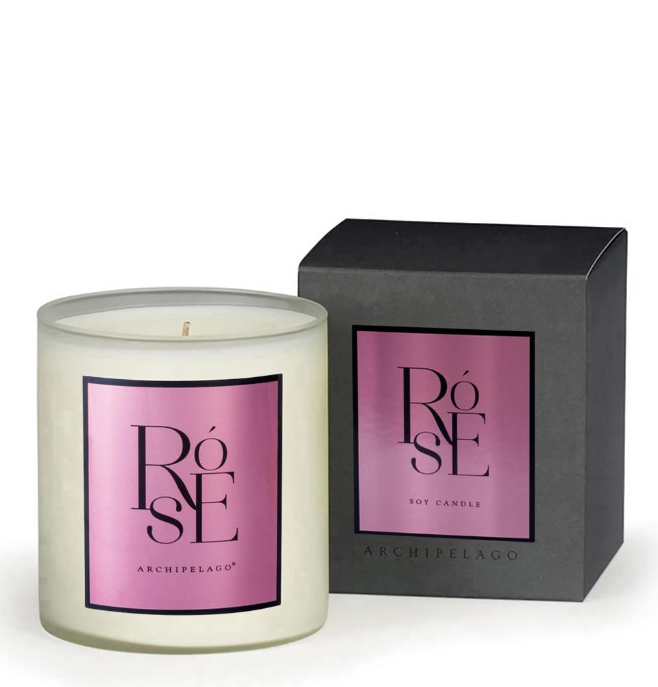 Rose Boxed Candle