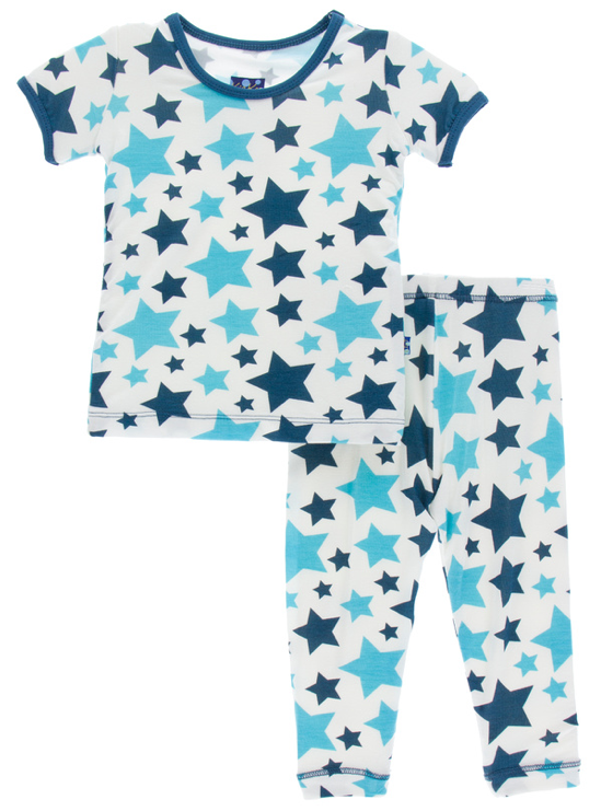 Confetti Star Short Sleeve Pajama Set