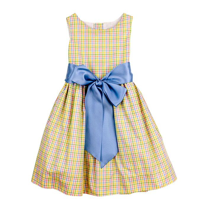 Sunshine Plaid Dress