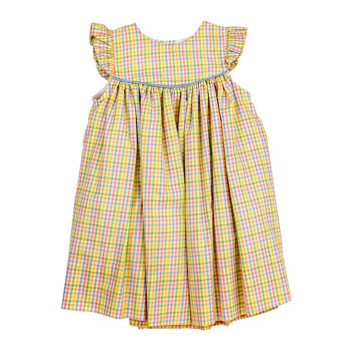 Sunshine Plaid Float Dress