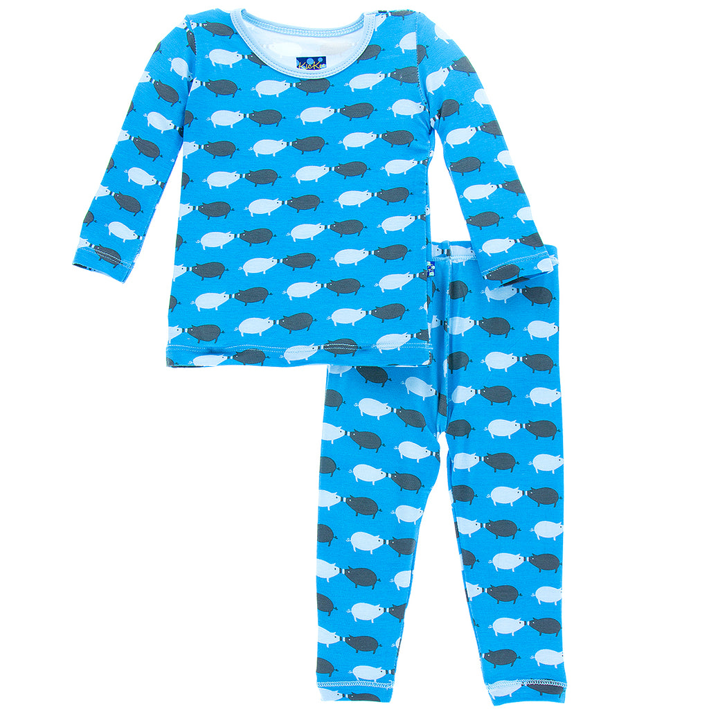River Pig Long Sleeve Pajama Set