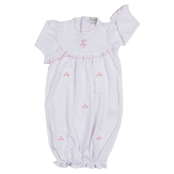 Baby Ballet Slippers Sack Gown