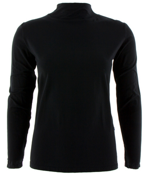 Midnight Long Sleeve Mock Turtleneck