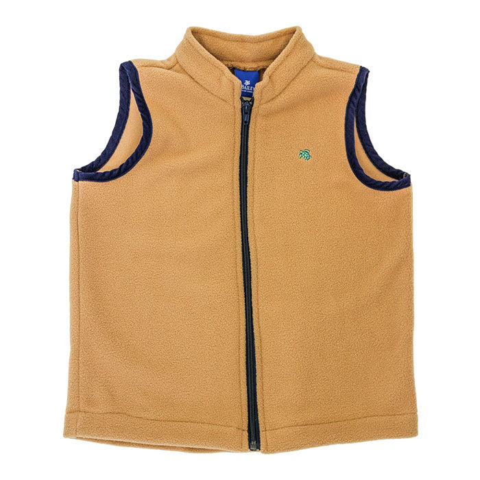Saddle Fleece Vest