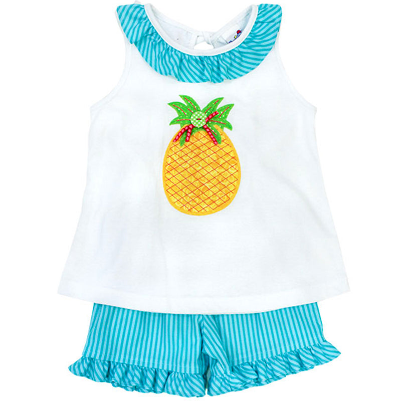 Bailey Boys - Pineapple Short Set - kkgivingtree - K&K's Giving Tree
