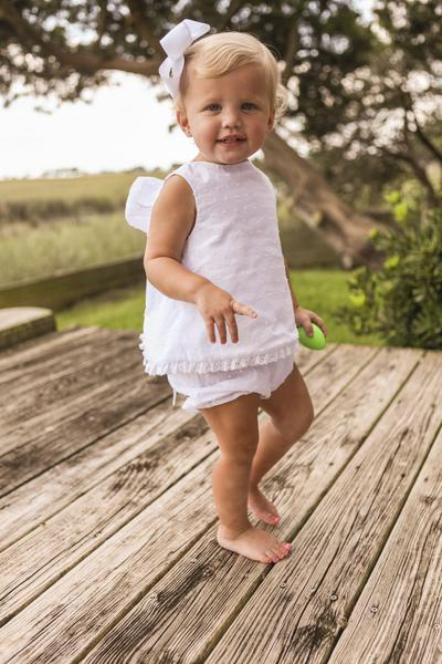 Bailey Boys - Dottie Swiss Angel Dress with Bloomer - kkgivingtree - K&K