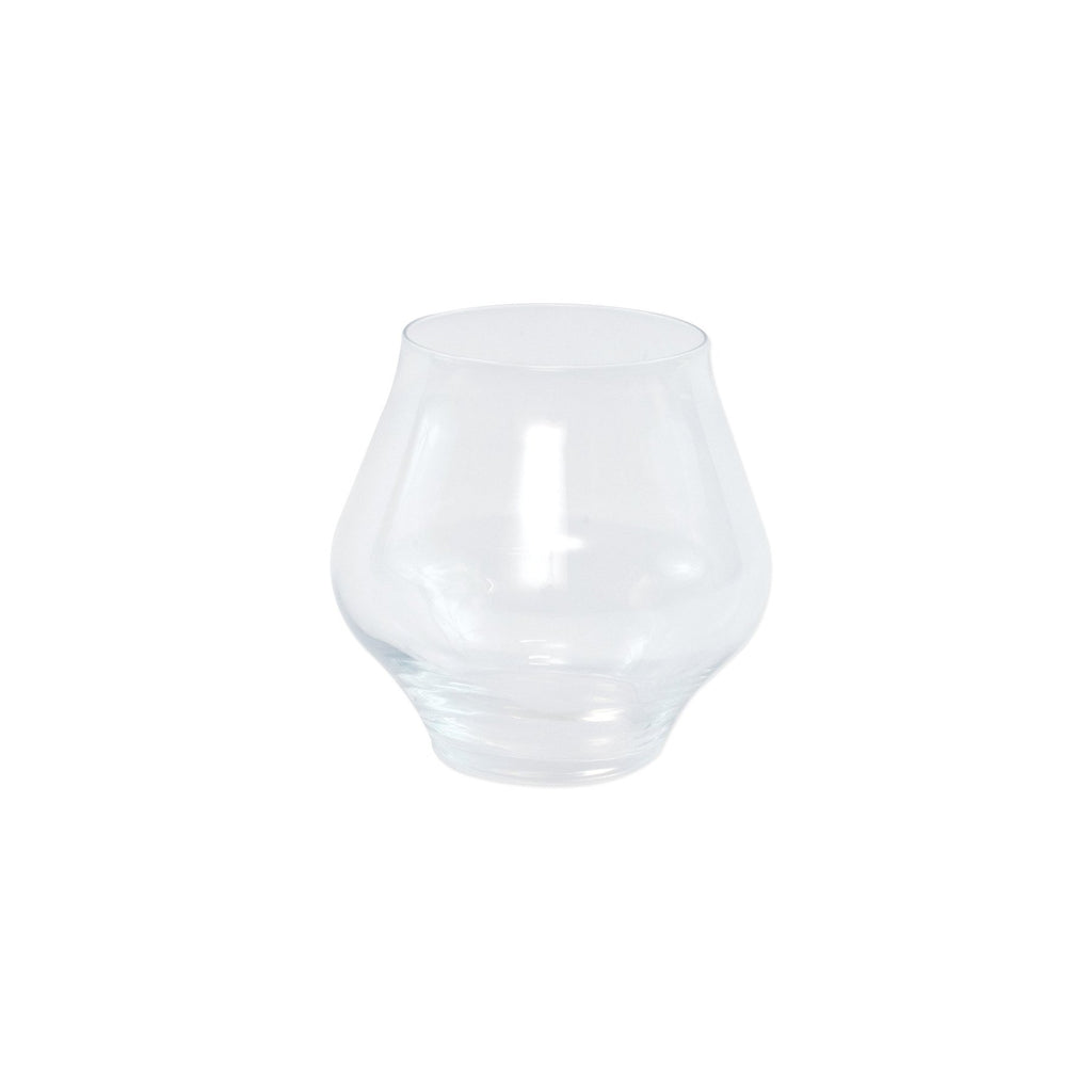 Contessa Clear Stemless Wine Glass