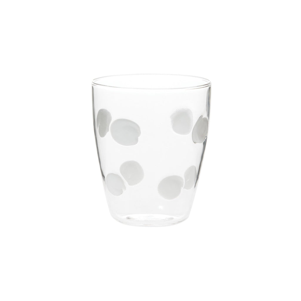 White Drop Short Tumbler