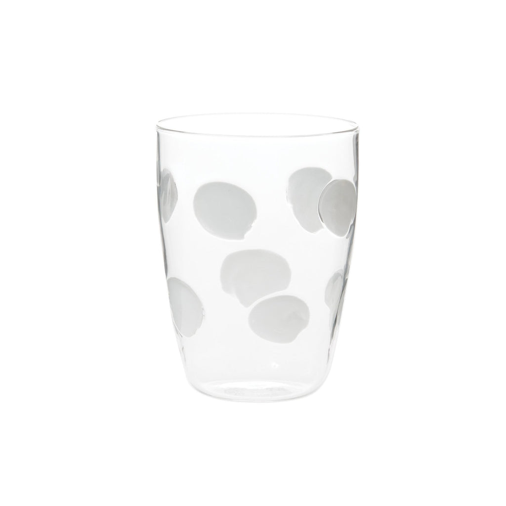 White Drop Tall Tumbler