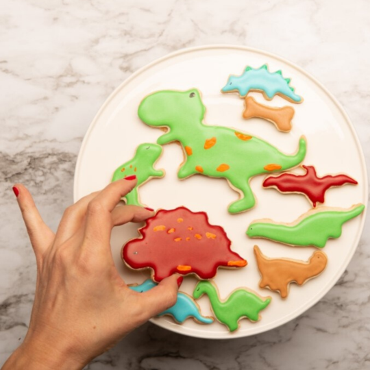 Dinosaur Cookie Cutters - Set of 2