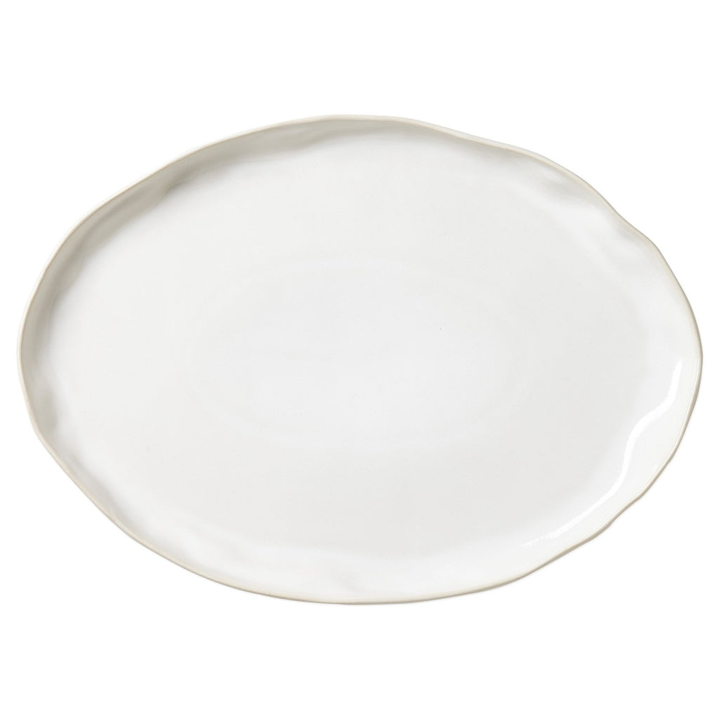 Forma Cloud White Large Oval Platter