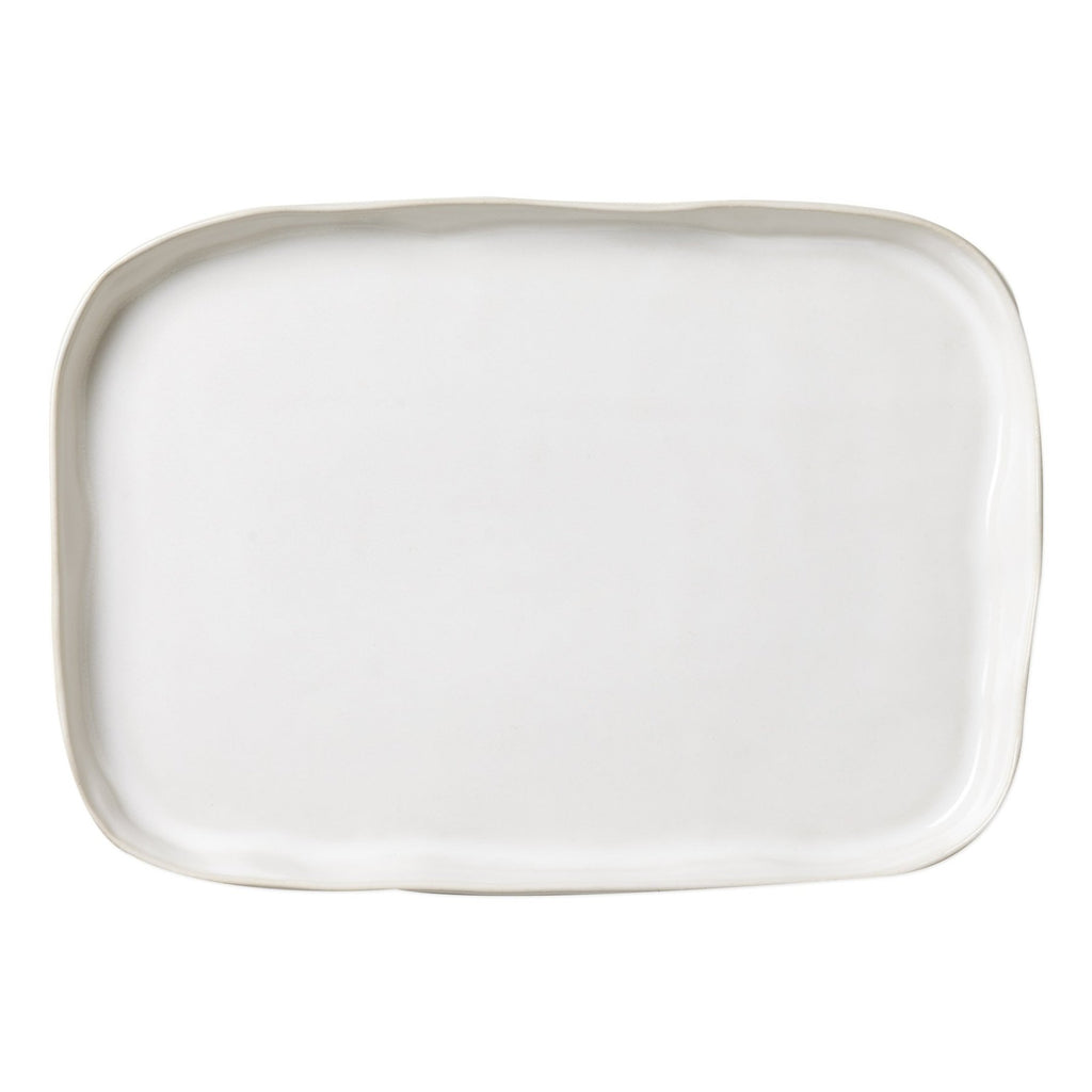Forma Cloud White Rectangular Platter