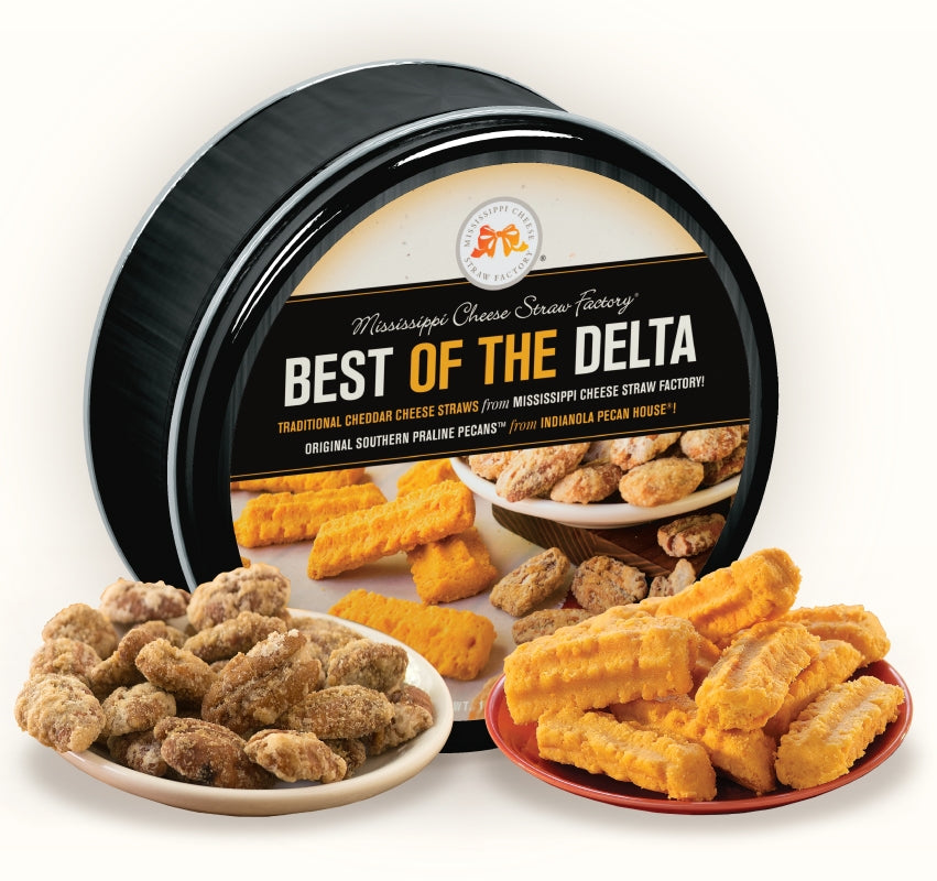 Best Of The Delta 16 oz. Gift Tin