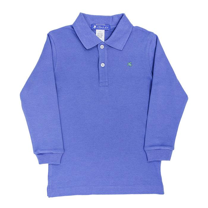 Harry Long Sleeve Polo - Chambray