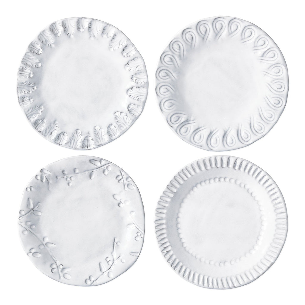 Incanto Assorted Canape Plate - Set of 4
