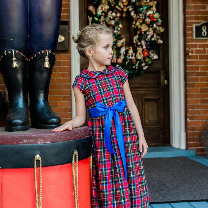 Wales Plaid - Empire Dress