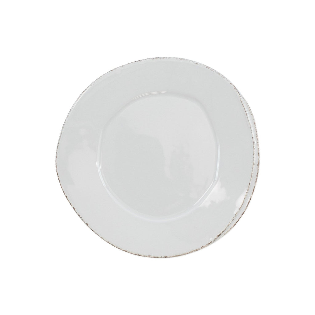 Light Grey Lastra Salad Plate