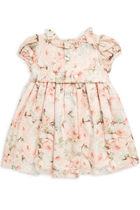 Floral Bow Dress with Lace