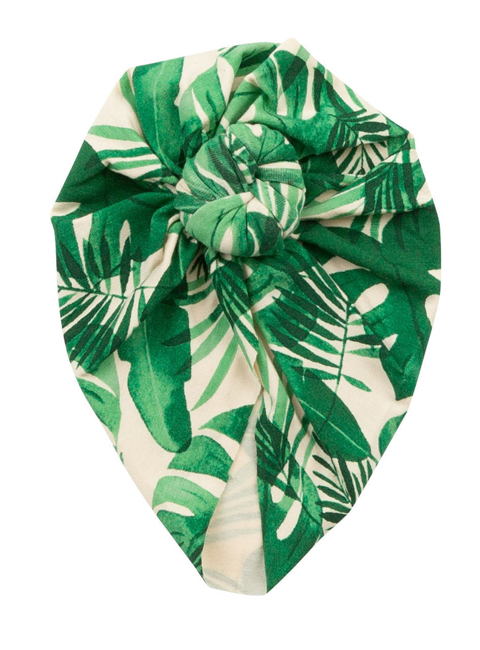 Monstera Deliciosa Headwrap