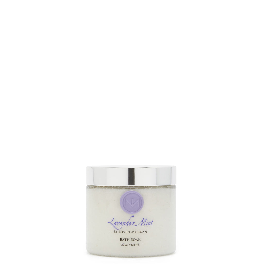 Niven Morgan Lavender Mint Bath Soak