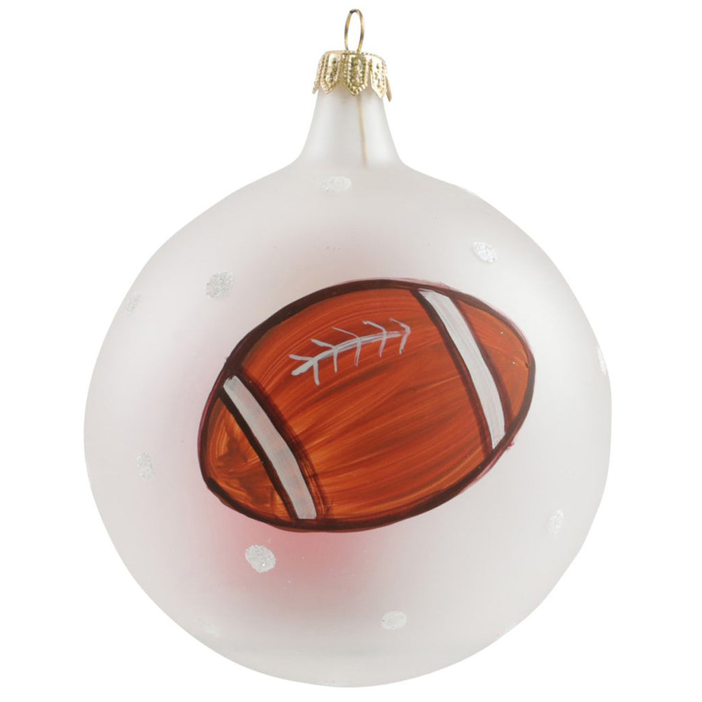 Old St. Nick Football Ornament