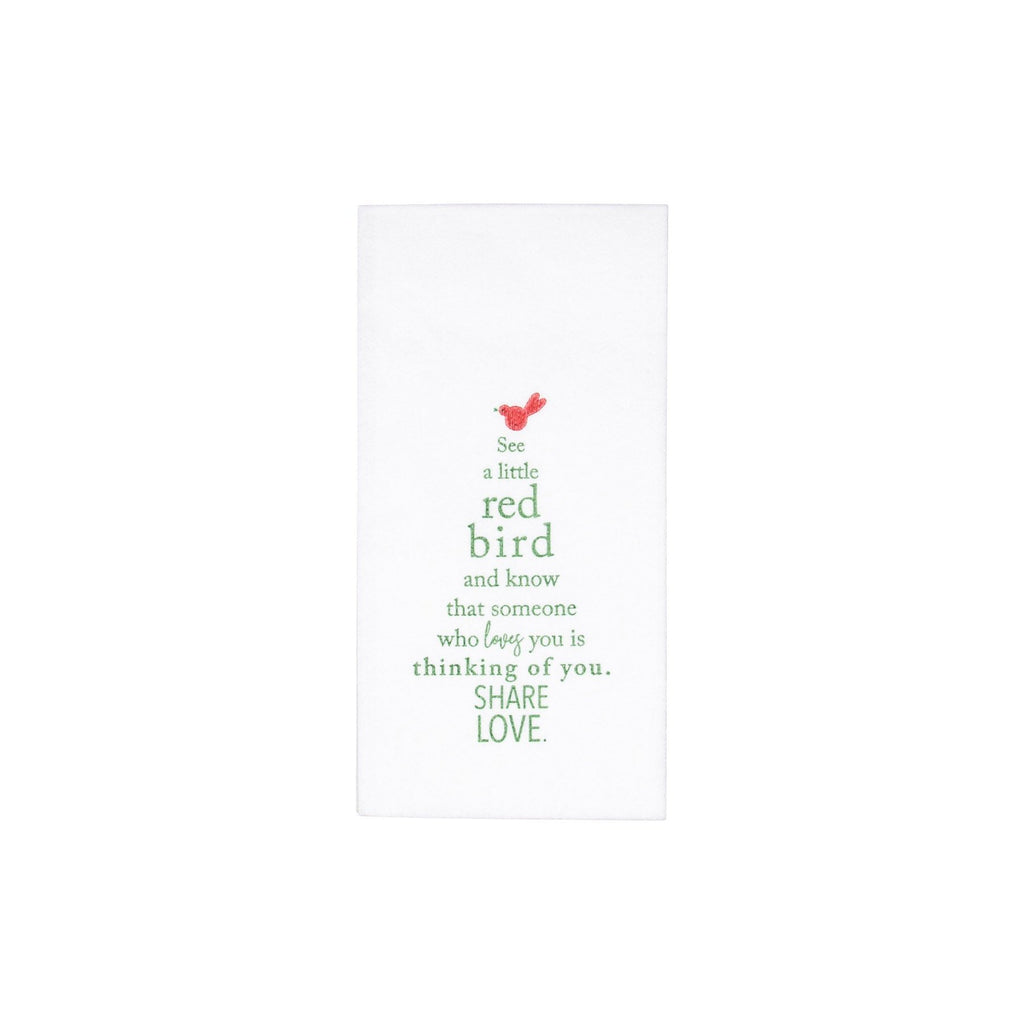 Holiday Tree Guest Towels - Pack of 20