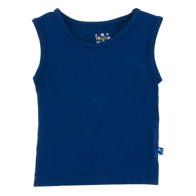 Flag Blue Solid Sport Tank
