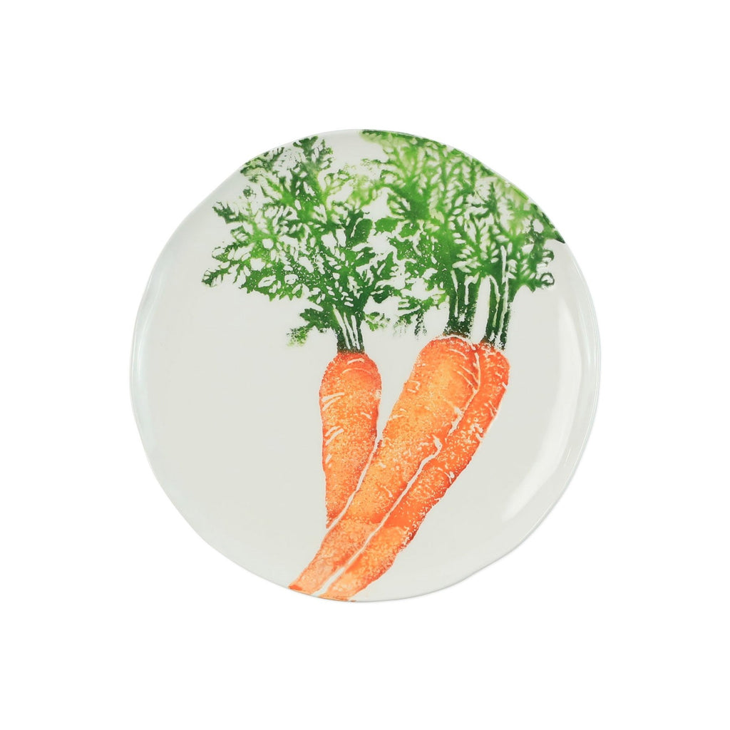 Spring Vegetables Carrot Salad Plate