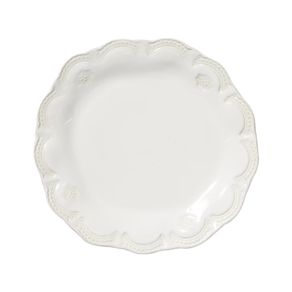 White Incanto Stone Lace Dinner Plate