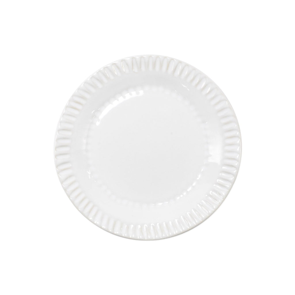 White Incanto Stone Assorted Canape Plates - Set of 4