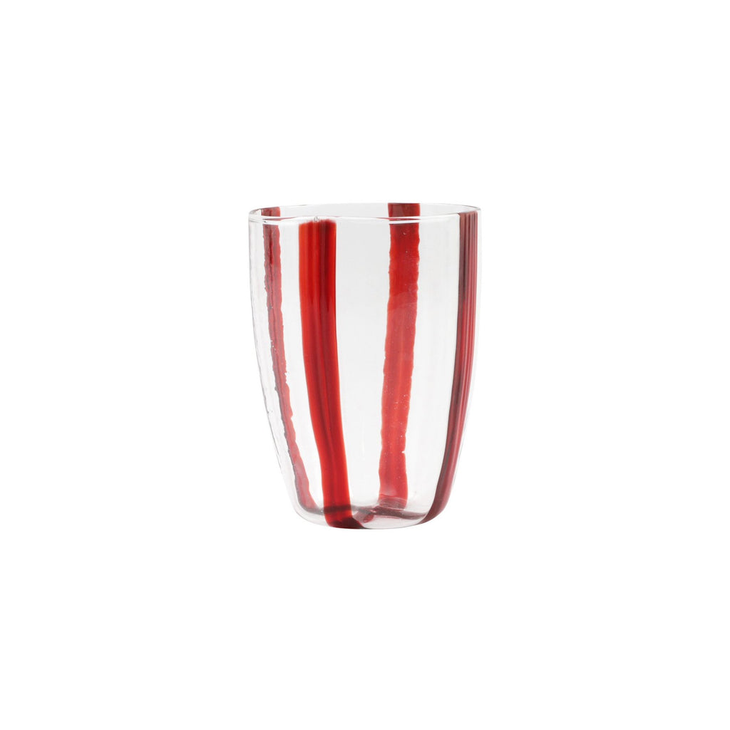 Stripe Red Tall Tumbler