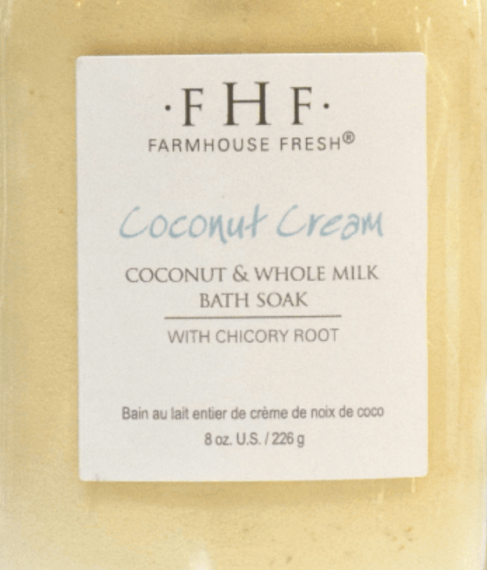 Coconut Cream Powder Milk Bath by the Scoop