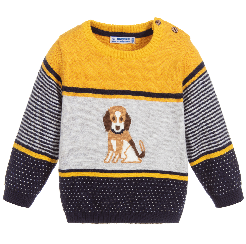 Striped Puppy Sweater