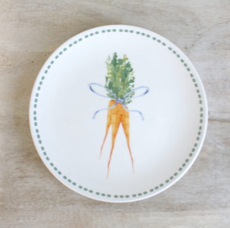 Springfield Carrot Salad Plate