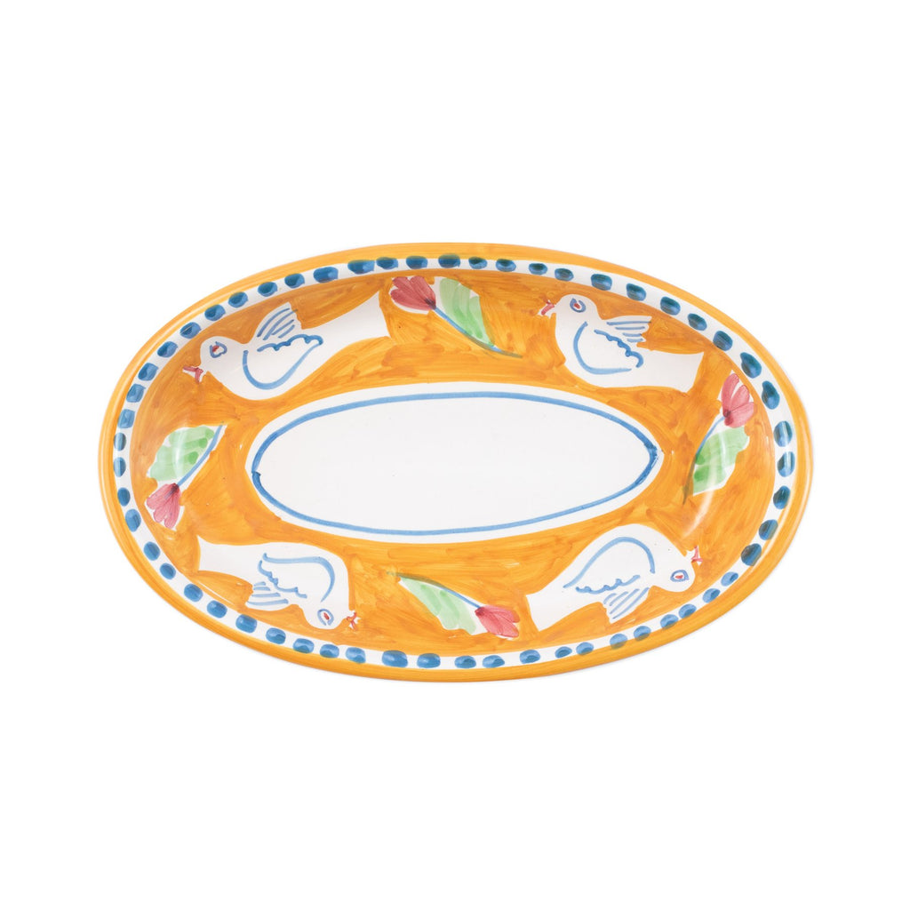 Campagna Uccello Small Oval Tray