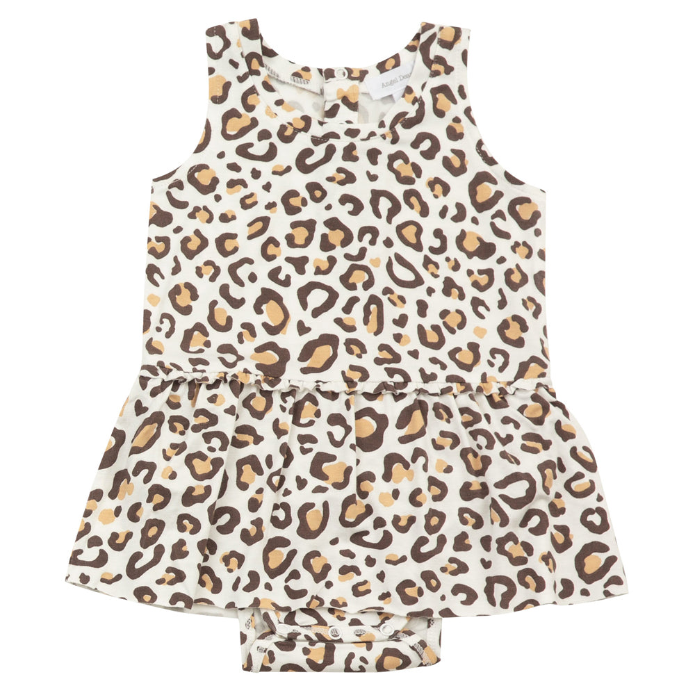 Leopard Bodysuit with Bloomers