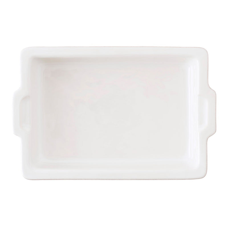 "Puro Whitewash 16"" Rectangular Baker"