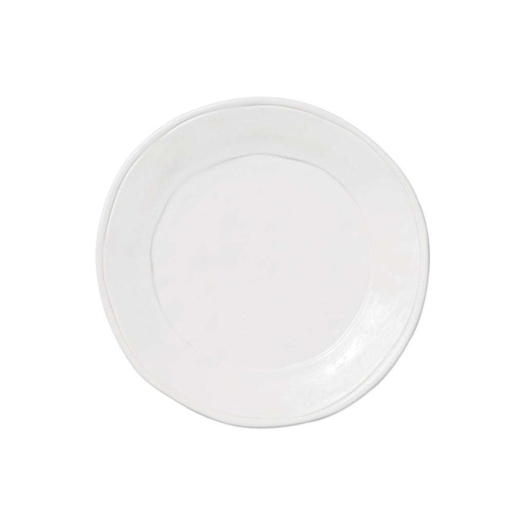 Fresh White Salad Plate