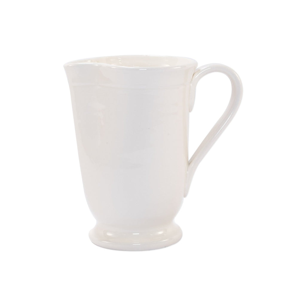 Fresh Linen Large Footed Pitcher