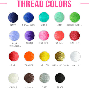 Thread Color Options - kkgivingtree - K&K's Giving Tree