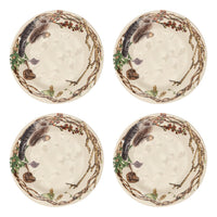 Forest Walk Party Plates Set/4